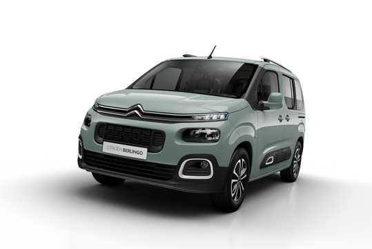 Front/Side  of Citroën Berlingo Multispace 2018