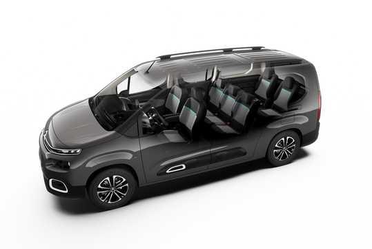 Fram/Sida av Citroën Berlingo Multispace 2018