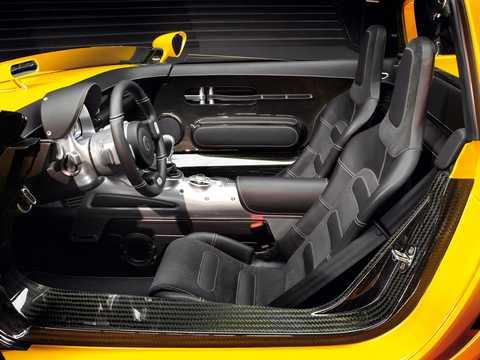 Interior of Volkswagen EcoRacer 1.5 TDI DSG Sequential, 110hp, 2005