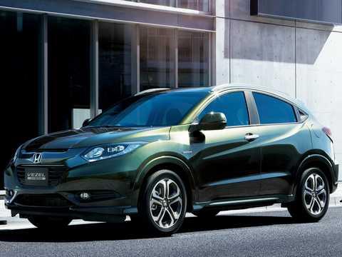 Front/Side  of Honda Vezel 1.5 Automatic, 162hp, 2014