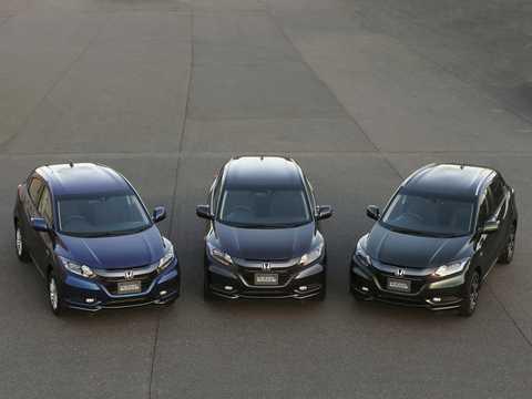 Front  of Honda Vezel 1.5 Automatic, 162hp, 2014