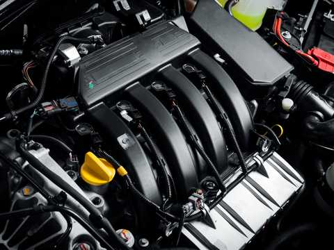 Engine compartment  of Nissan Terrano 5-door 2013