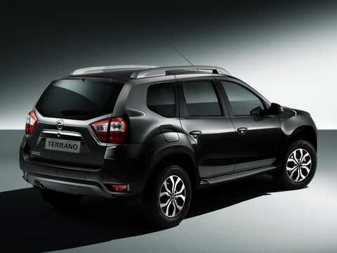 Back/Side of Nissan Terrano 5-door 2013