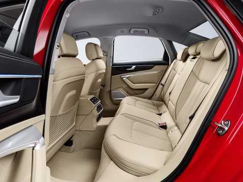 Interior of Audi A6 55 TFSI 3.0 TFSI V6 quattro S Tronic, 340hp, 2018