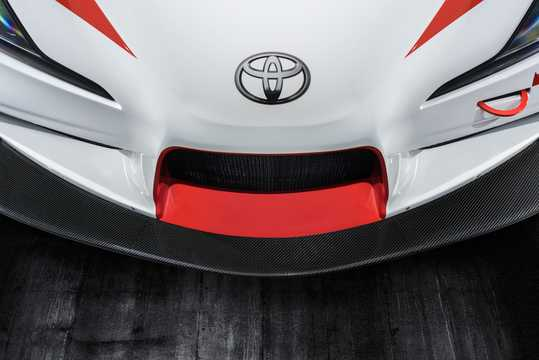 Close-up of Toyota GR Supra Racing Concept Concept, 2018