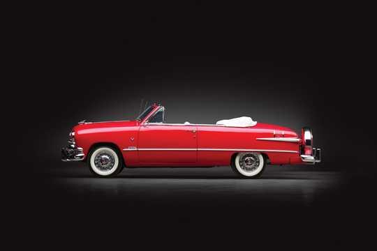 Sida av Ford Custom Deluxe Convertible 3.9 V8 Manuell, 102hk, 1951