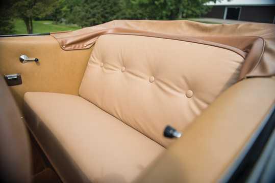 Interiör av Ford Custom Deluxe Convertible 3.9 V8 Manuell, 102hk, 1951