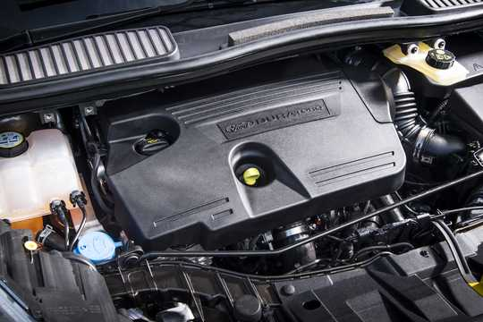 Engine compartment  of Ford C-Max 2017