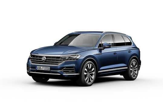 Fram/Sida av Volkswagen Touareg 2019