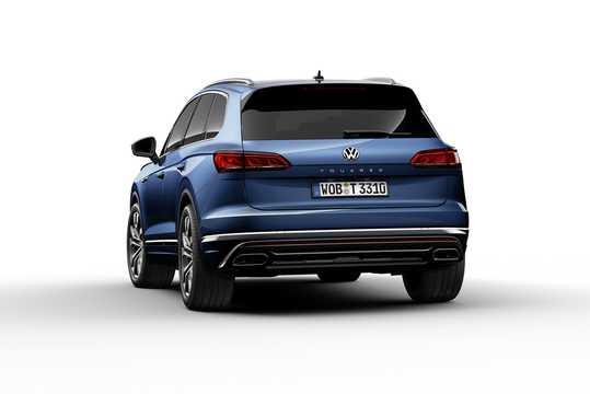 Bak/Sida av Volkswagen Touareg 2019