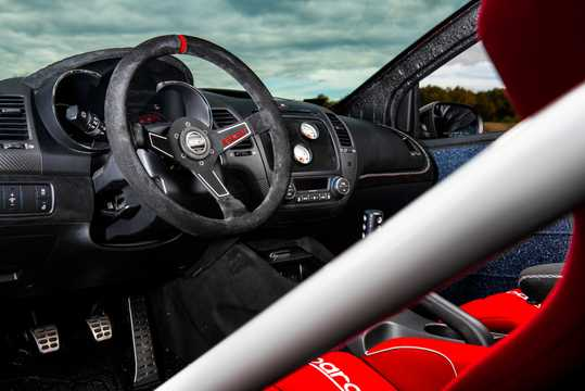 Interior of Kia Forte Koup Mud Bogger 1.6 T-GDI Concept, 201hp, 2015