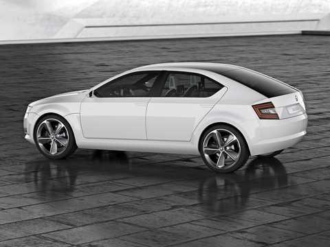 Bak/Sida av Skoda Vision D Concept Concept, 2011