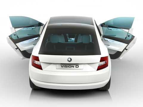 Bak av Skoda Vision D Concept Concept, 2011