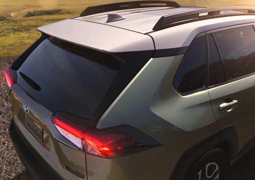 Close-up of Toyota RAV4 XA50