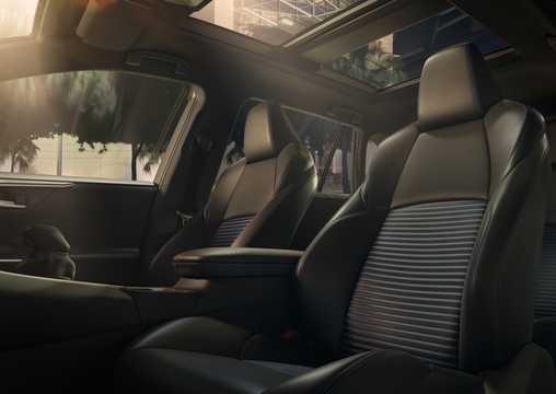 Interior of Toyota RAV4 XA50