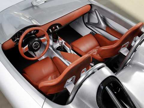 Interior of Mazda MX-5 Superlight 1.8 Manual, 124hp, 2009