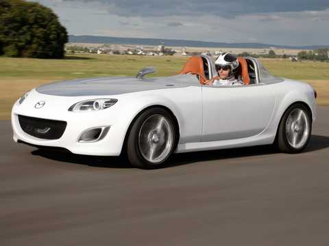 Front/Side  of Mazda MX-5 Superlight 1.8 Manual, 124hp, 2009