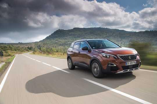 Fram/Sida av Peugeot 3008 2016