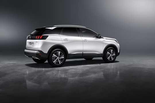 Back/Side of Peugeot 3008 2016