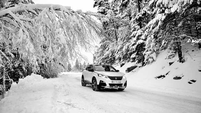 Front/Side  of Peugeot 3008 2016