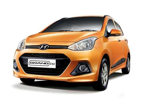Front/Side  of Hyundai Grand i10 2014