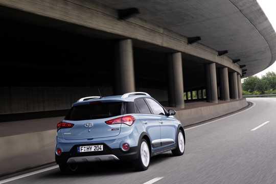 Bak/Sida av Hyundai i20 Active 1.4 CRDi Manuell, 90hk, 2015