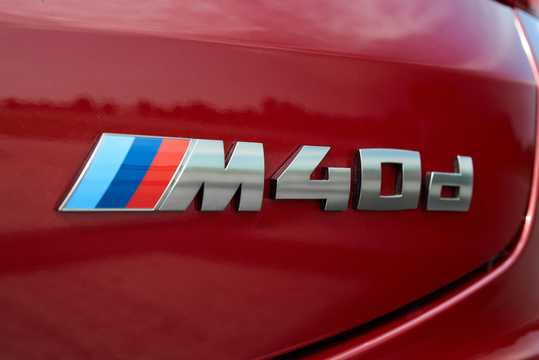 Närbild av BMW X4 M40d 3.0 xDrive Steptronic, 326hk, 2018