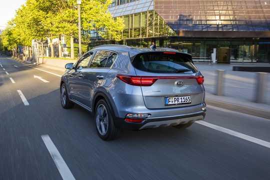 Bak/Sida av Kia Sportage 1.6 CRDi AWD DCT, 136hk, 2018