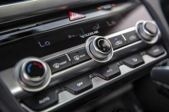 Interiör av Hyundai Elantra Sedan 2019