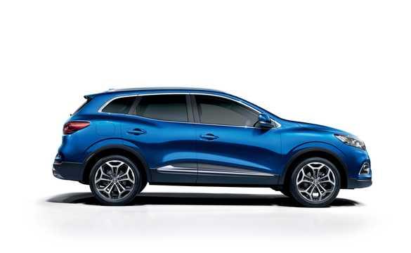 Side  of Renault Kadjar 2019