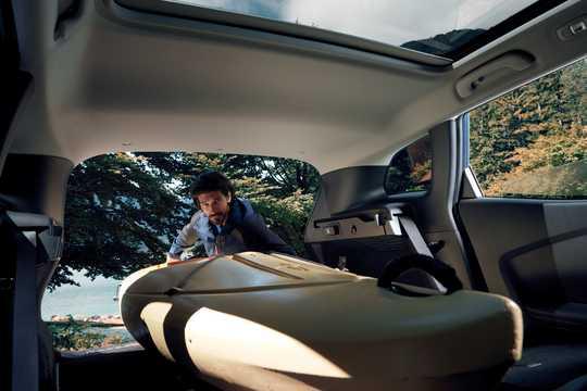 Interior of Renault Kadjar 2019
