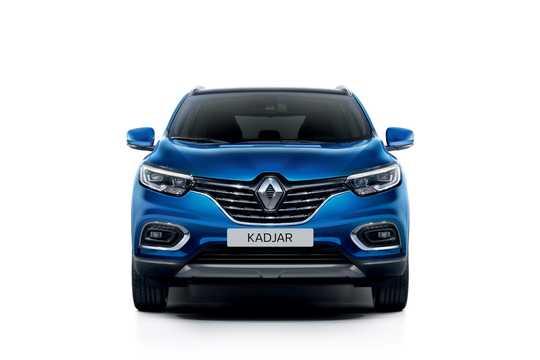 Front  of Renault Kadjar 2019