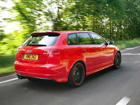 Bak/Sida av Audi RS 3 Sportback 2.5 TFSI quattro S Tronic, 340hk, 2011