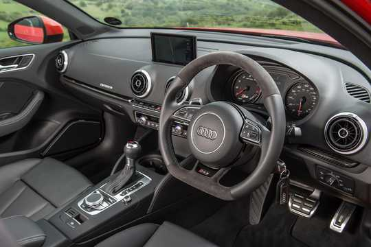 Interior of Audi RS 3 Sportback 2.5 TFSI quattro S Tronic, 367hp, 2015