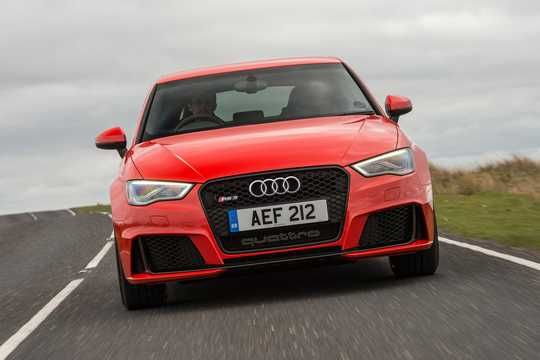 Front  of Audi RS 3 Sportback 2.5 TFSI quattro S Tronic, 367hp, 2015