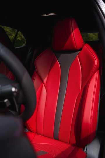 Interior of Lexus UX 2019
