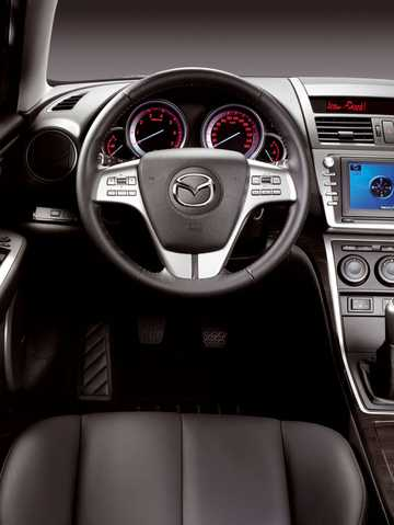 Interior of Mazda 6 Sport 2008