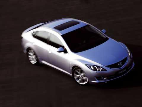 Fram/Sida av Mazda 6 Sport 2008