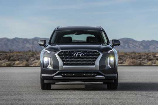 Front  of Hyundai Palisade 2020