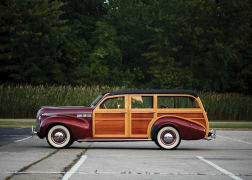 Side  of Buick Super Estate Wagon 4.1 Manual, 109hp, 1940