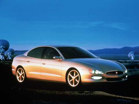 Front/Side  of Buick XP2000 5.0 V8 Automatic, 265hp, 1995