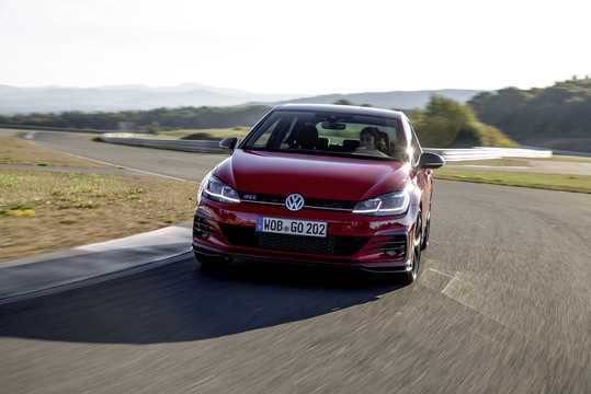 Fram/Sida av Volkswagen Golf GTI TCR 2.0 TSI DSG Sekventiell, 290hk, 2019