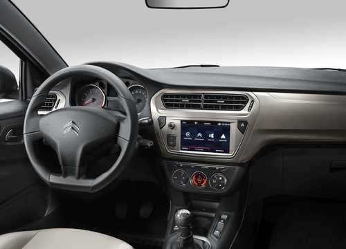 Interior of Citroën C-Elysée 2017