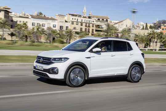 Front/Side  of Volkswagen T-Cross 2019