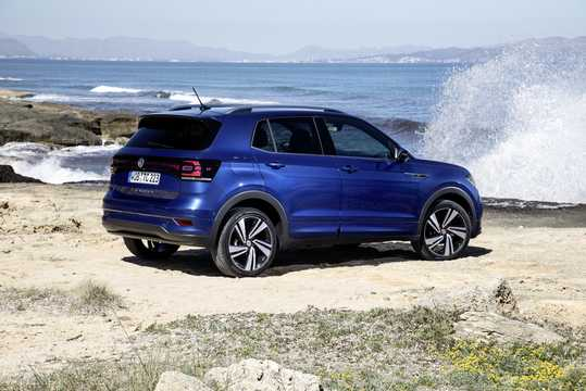 Back/Side of Volkswagen T-Cross 2019