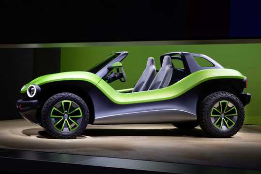 Side  of Volkswagen ID.BUGGY Electric Single Speed, 204hp, 2019