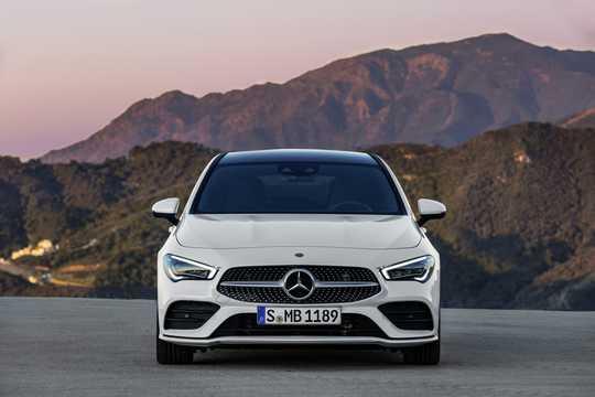 Front  of Mercedes-Benz CLA-Class Shooting Brake 2019