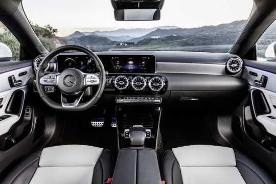 Interior of Mercedes-Benz CLA-Class Shooting Brake 2019