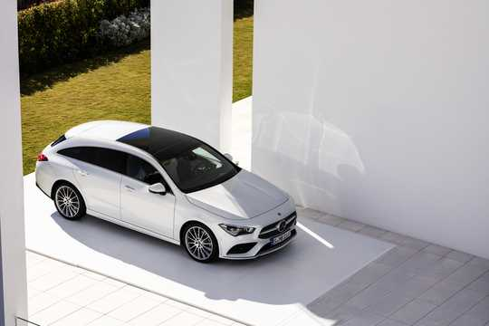 Front/Side  of Mercedes-Benz CLA-Class Shooting Brake 2019