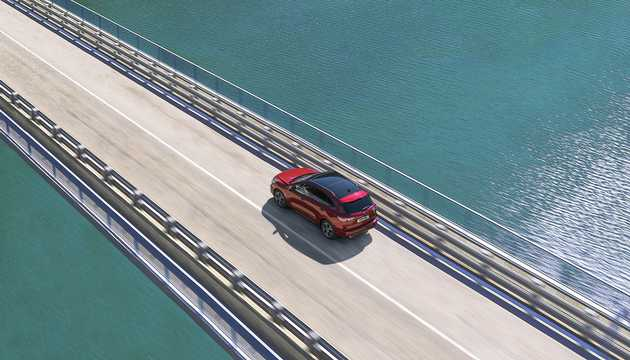 Back/Side of Ford Kuga 2020
